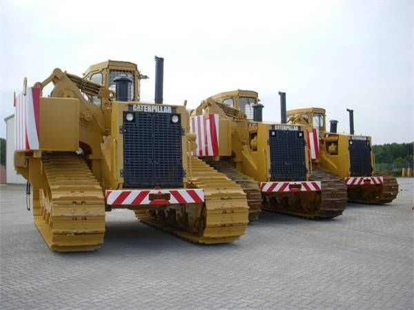 CATERPILLAR 589 pipelayer máquina para colocar tubos