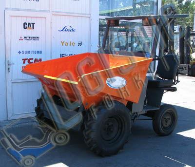 AUSA D150RM mini-dumper