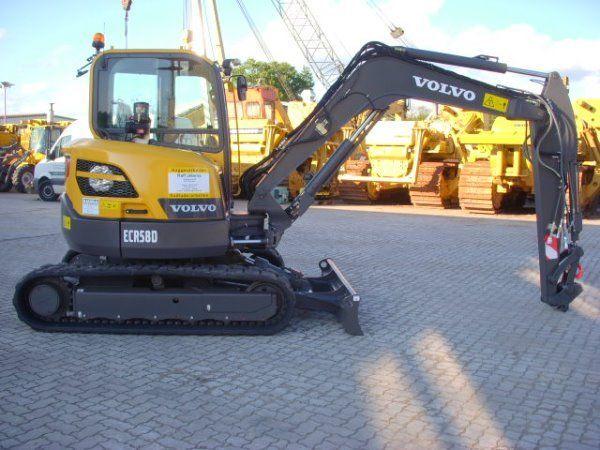 VOLVO ECR58D mini-escavadora