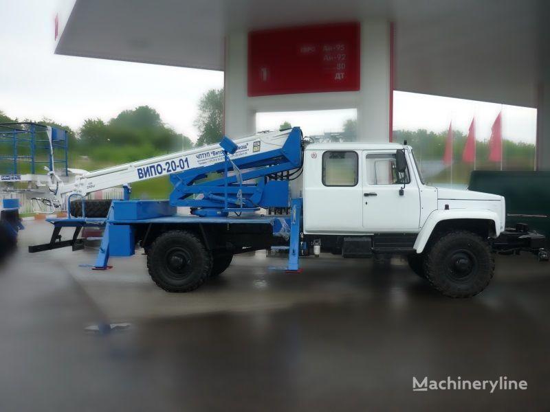 GAZ Sadko plataforma sobre camião