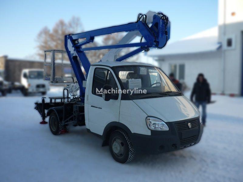 GAZ VIPO-12-01 na bazovom shassi  GAZ-3302 Gazel plataforma sobre camião