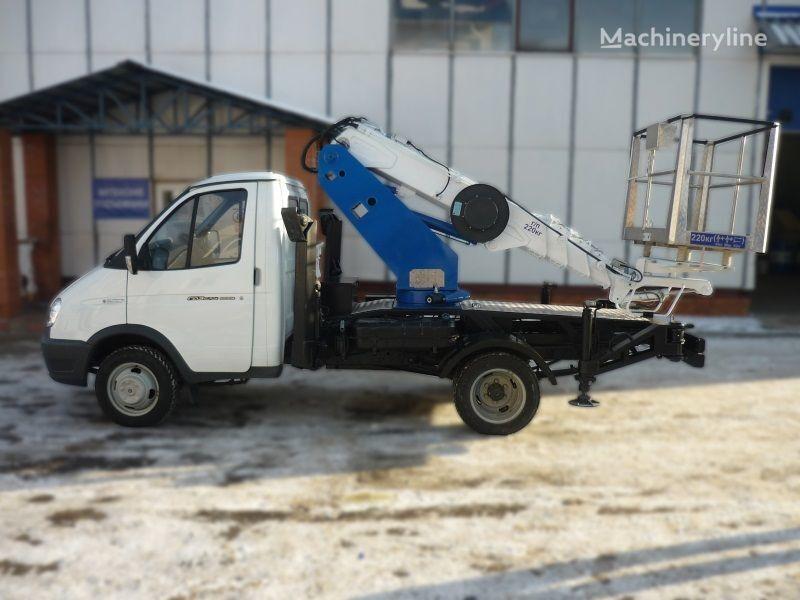 GAZ VIPO-12t na baze GAZEL plataforma sobre camião