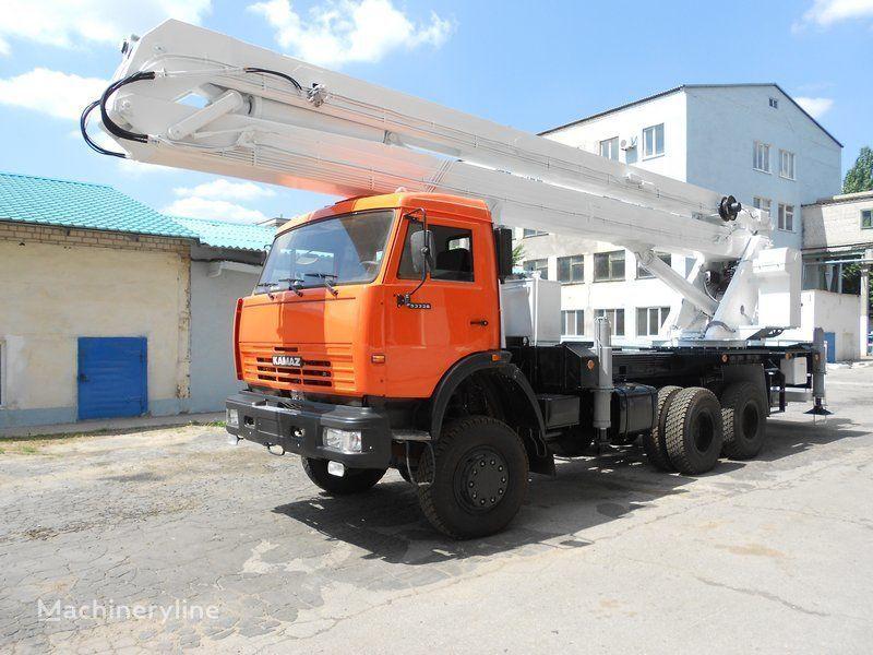 KAMAZ VS-32  plataforma sobre camião