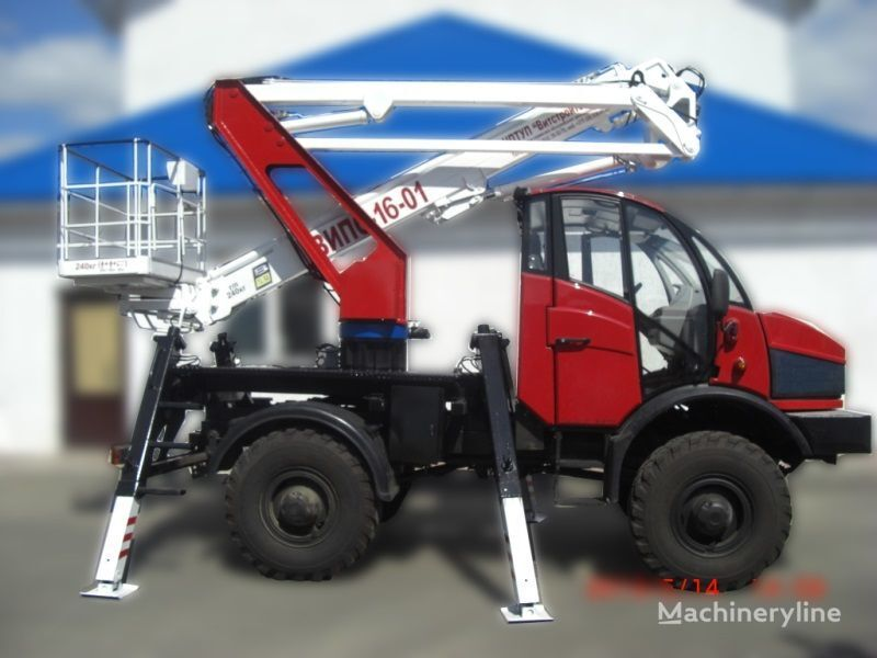 Lifting Machines AGP VIPO-16-01-02 Silant plataforma sobre camião