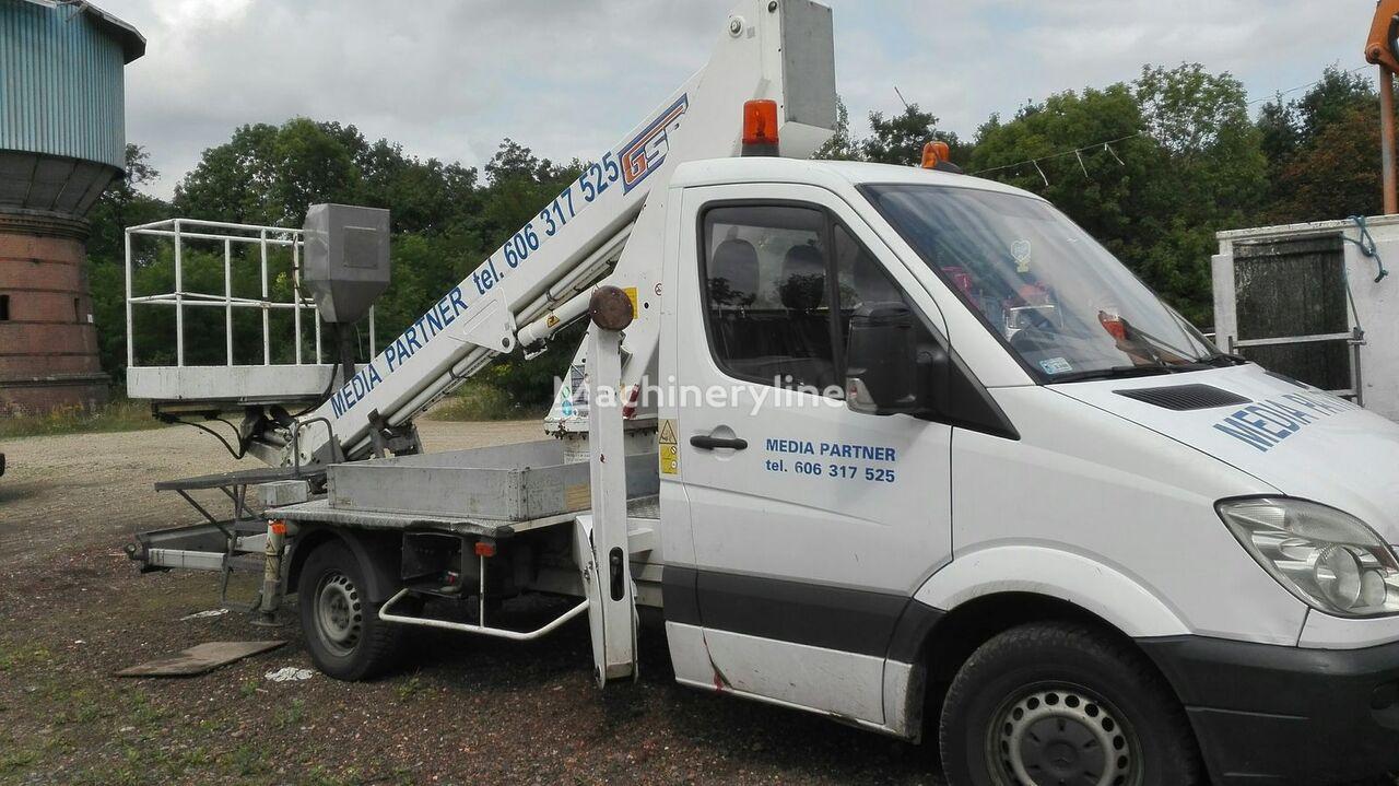 plataforma sobre camião MERCEDES-BENZ GSR 179 pełna hydraulika