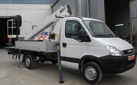 MOVEX plataforma sobre camião novo