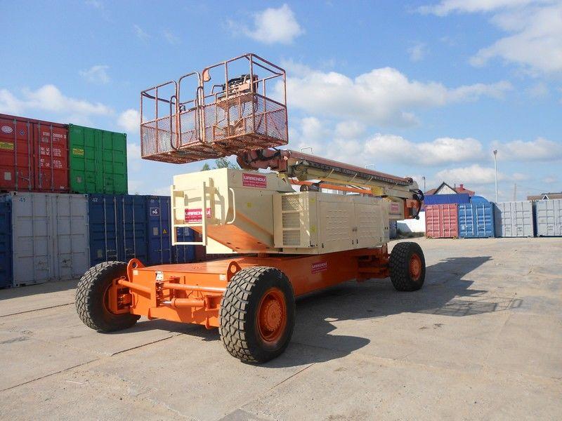 JLG 150HAX, Diesel, 4x4, 47.7m plataforma telescópica