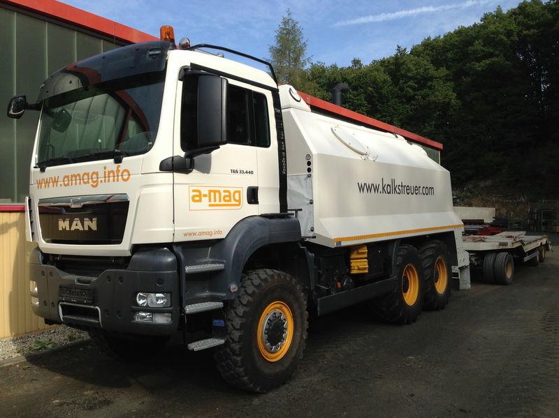 MAN TGS spreader 33.440 - 6x6 recicladora novo