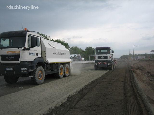 MAN amag cement spreader MAN TGS 33.440 - 6x6 recicladora novo