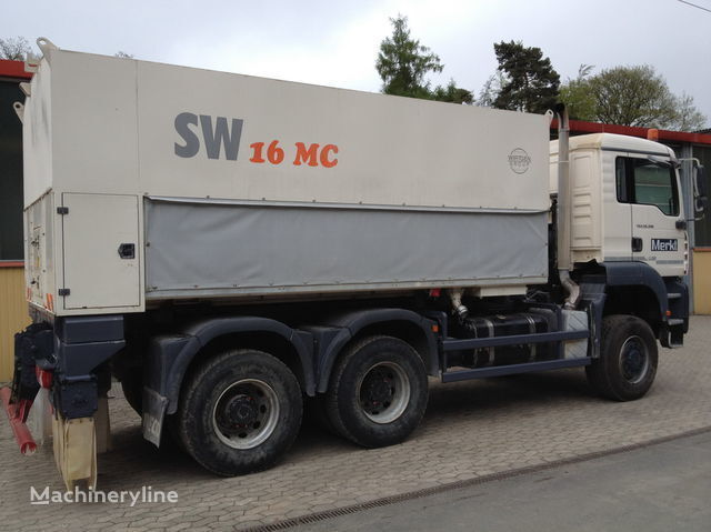 WIRTGEN Spreader Streumaster SW 16 MC recicladora