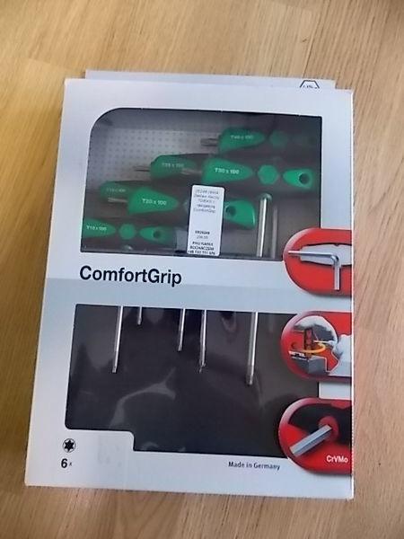 Zestaw kluczy TORX z rękojeścią ComfortGrip. ferramentas para manutenção técnica de automóveis