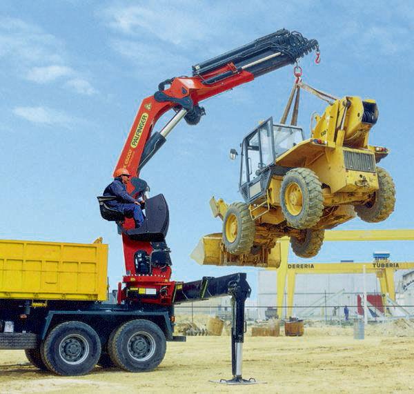 PALFINGER RK 65002-SH serii High Performance grua auxiliar novo