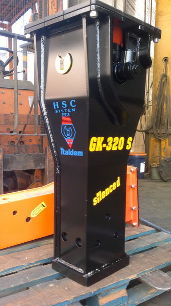 ITALDEM GK 320S martelo hidráulico novo