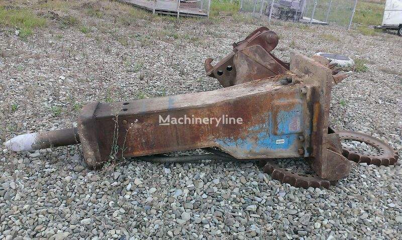 KRUPP 1000 martelo hidráulico