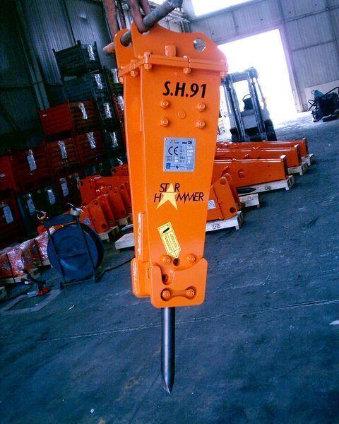 STAR Hammer SH 91 martelo hidráulico novo