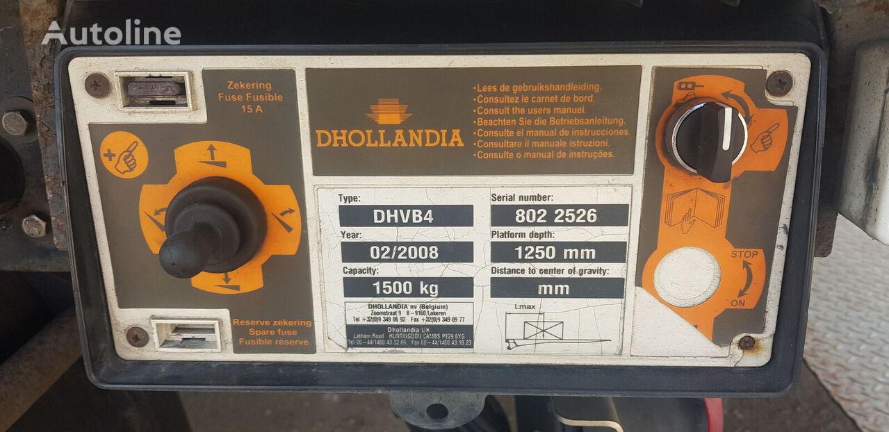 plataforma elevatoria hidraulica DHOLLANDIA DHVB4