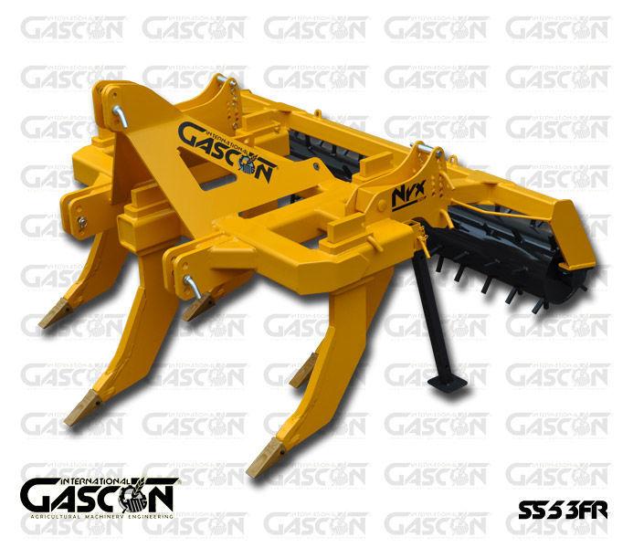 GASCON  Glubokoryhlitel Gascon SS-5-3FR (150-210 l.s.) escarificador novo