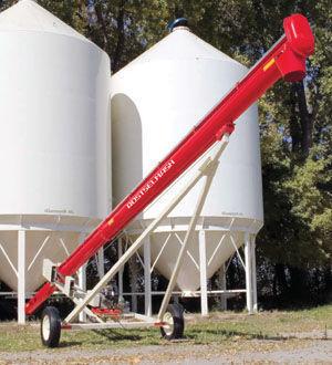 ROSTSELMASH Transporter zerna shnekovyy TSh lançador de cereais novo