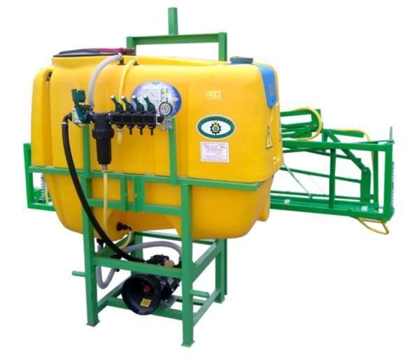 600 l/ 14 m pulverizador montado novo