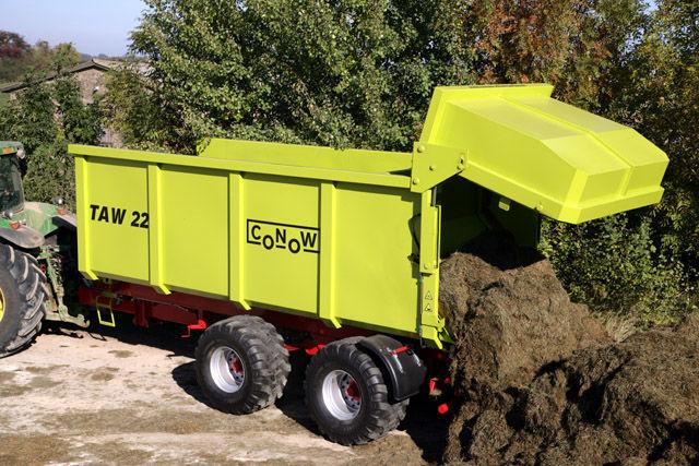 CONOW TAW 22 reboque de tractor novo