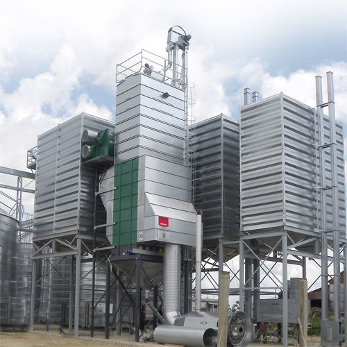 Stacionarnye vakuumnye zernosushilki MEPU serii DCR secador de cereais novo