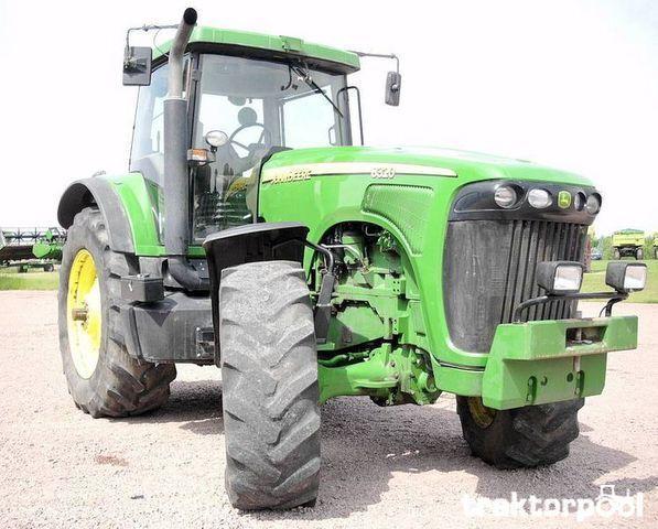 JOHN DEERE 8320 trator de rodas