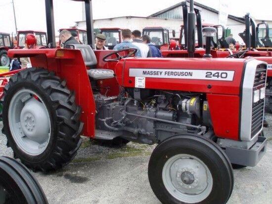 MASSEY FERGUSON 240 trator de rodas novo