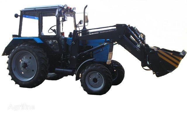 Frontalnyy chelyustnoy BAM-2021 na traktore MTZ trator de rodas