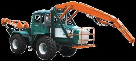 HTA-200-BKM trator de rodas