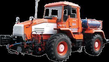 MMT-2  Manevrovyy motovoz na baze traktora HTA-200  trator de rodas