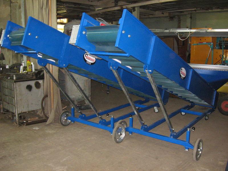 transporter (konveyer) - 4m  tremonha de recepção novo