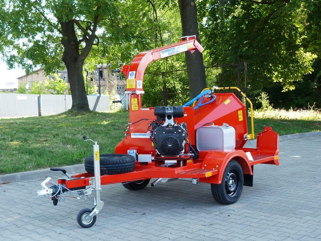 TEKNAMOTOR Skorpion 120 S triturador de madeira novo
