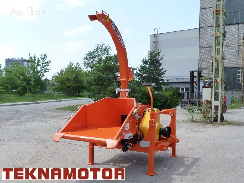 TEKNAMOTOR Skorpion 280RB triturador de madeira novo