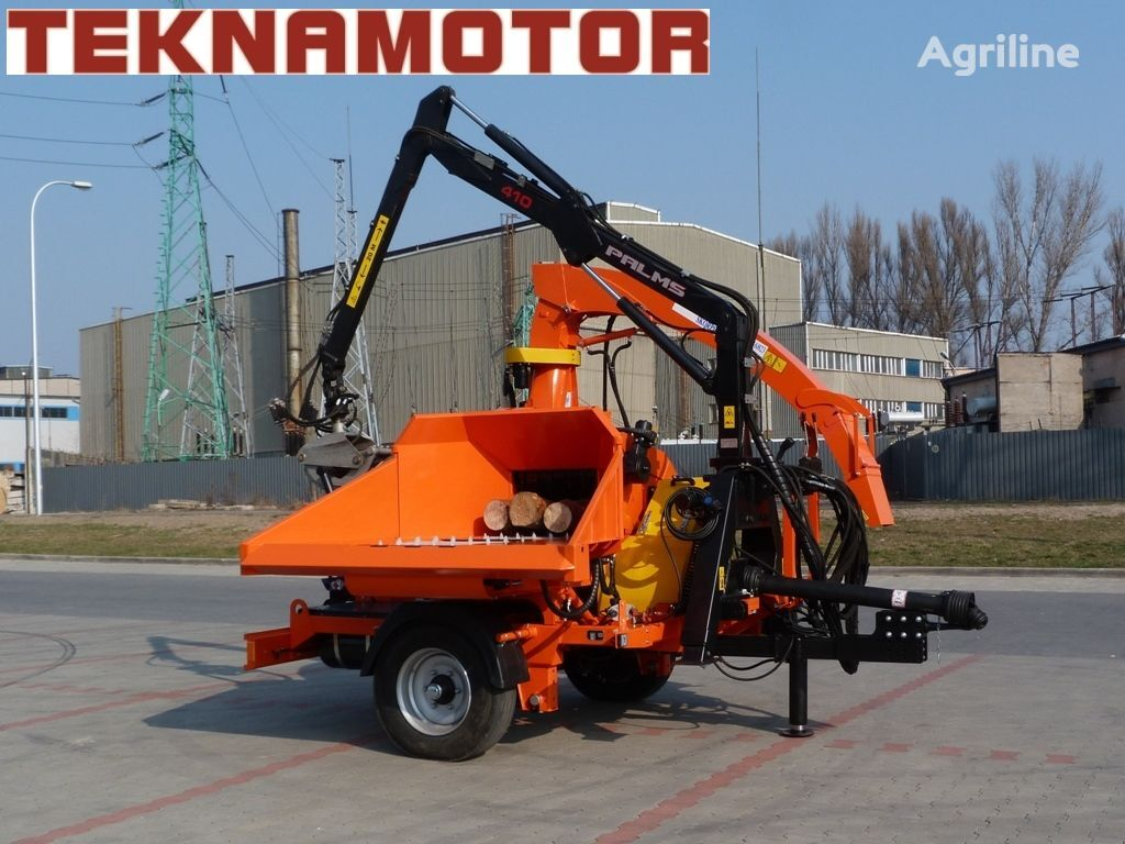 TEKNAMOTOR Skorpion 500 RB triturador de madeira novo