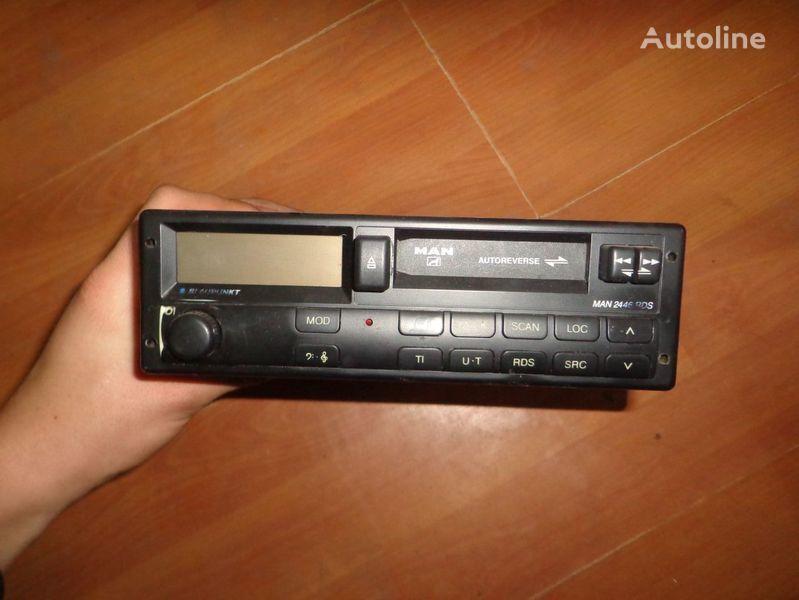 Blaupunkt MAN 2446RDS auto-rádio para MAN camião