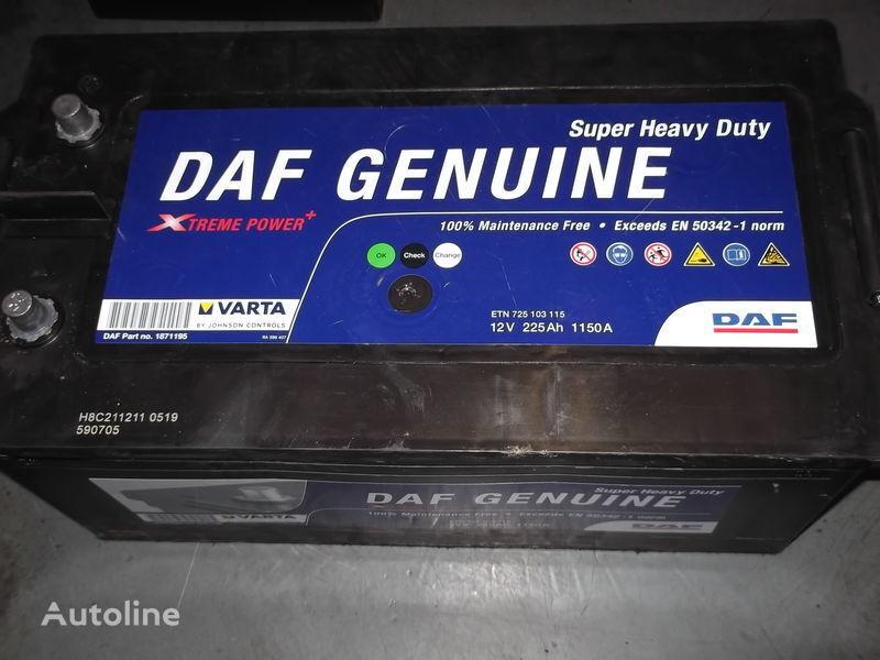 225Ah DAF XF 105  CF 85 bateria automotiva para autocarro nova