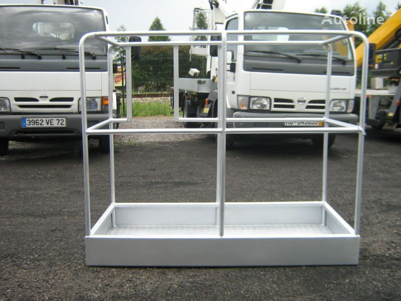 NISSAN braço de empilhadeira para NISSAN Cabstar kosz do podnośnika zwyżki stalowy aluminiowy laminowany  plataforma elevatória novo