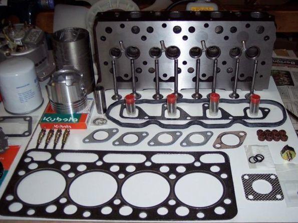 KUBOTA cabeça do motor para mini-escavadora nova