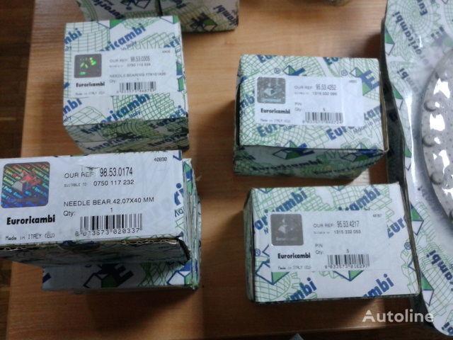 ZF 16S181,16 S221 Podshipniki KPP 0750117232  0750117678  0750117232 caixa de velocidades para camião tractor nova