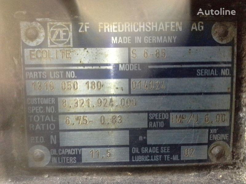 ZF S6-85 caixa de velocidades para MAN autocarro