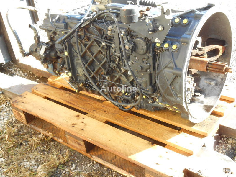 New Ecosplit MAN ZF16S2520 TO  Für MAN FZ übers. 13,80-0,84 Part List 1343 002 001 Customer Spec. NO.  81.32003-6676 caixa de velocidades para MAN Kipper-Mixer FZ SZM camião