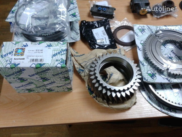 ZF Shesternya 1316302066 1316303065 1316303005 16S181 16S221 caixa de velocidades para MAN F2000 TGA  camião tractor nova