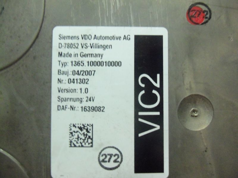 DAF VIC2 electronic control unit 1639082 centralina para DAF 105XF camião tractor