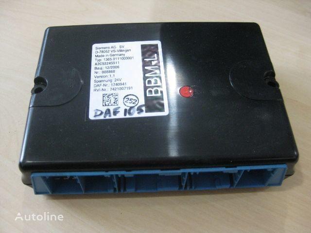 DAF 1365.0111000001 centralina para DAF camião