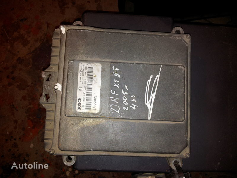 DAF 95XF, 85LF, 75LF, EURO3 ECU EDC engine control BOSH 0281010045; 1365685, 1684367, 1679021 centralina para DAF 95XF camião tractor
