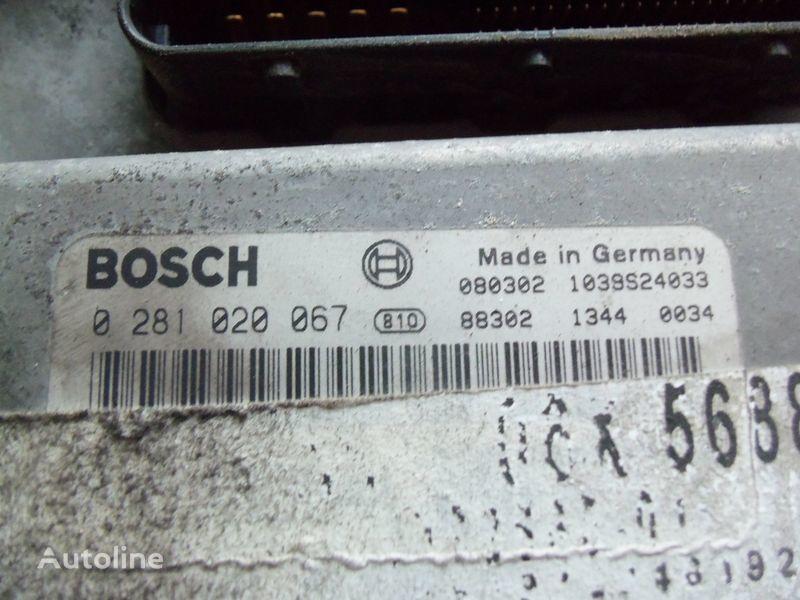 MAN EDC 480PS D2676LF05 ECU BOSH 0281020067 EURO4, 51258037564, 5125 centralina para MAN TGX camião tractor