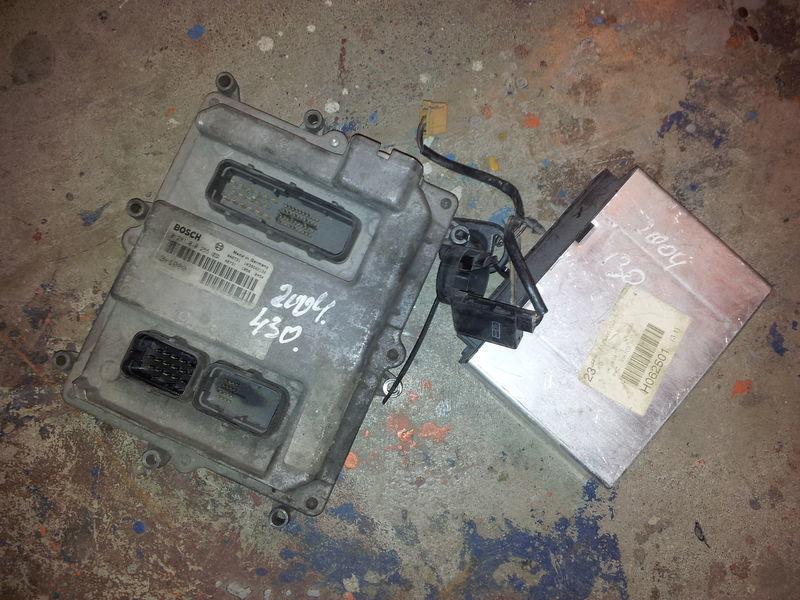 MAN EURO3, 430PS ignition set, EDC, ECU, BOSCH 0281010255 + FFR centralina para MAN TGA camião tractor