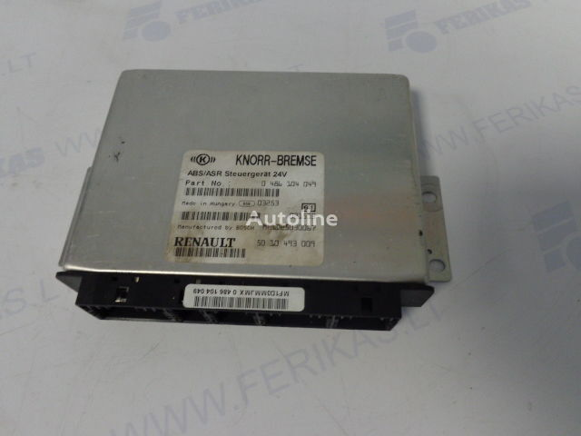 RENAULT ABS control units 0486104049, 5010493009