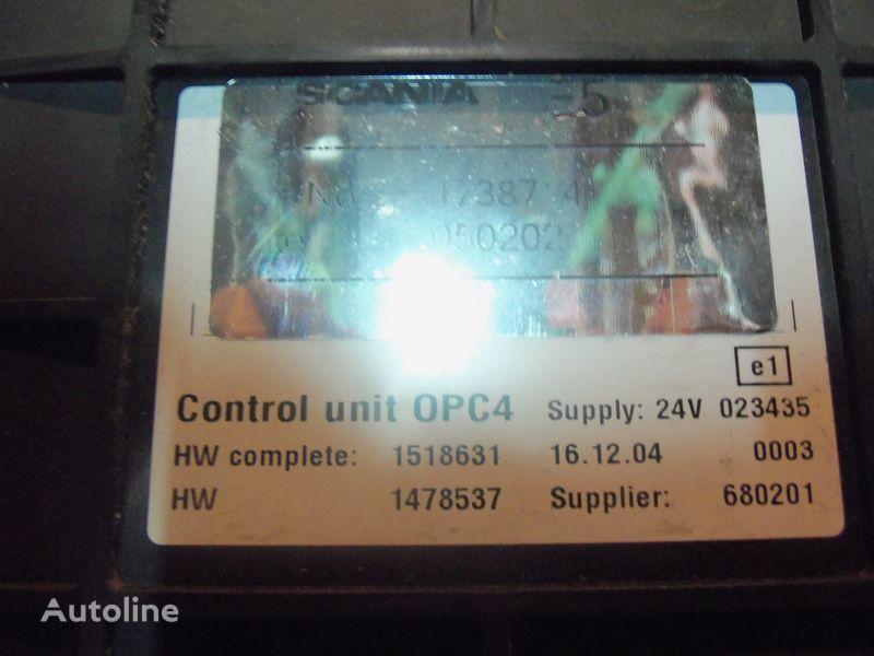 SCANIA OPC4 Control unit 1731140, 1750167, 17514664, 1754669, centralina para SCANIA R series camião tractor