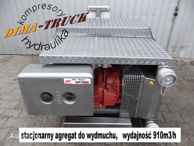CS80 agregat elektryczny compressor pneumático para Agregat elektryczny GHH CS80 camião novo
